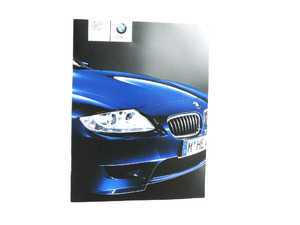 ES#12795 - 01410012046 - 2006 Z4 Owner's Manual - Full of useful information and specifications - Genuine BMW - BMW