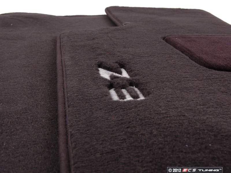 Genuine Bmw 82111470158 Carpeted Floor Mat Set Black