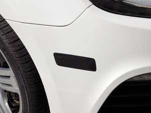 ES#2535639 - GJSMSSMK-AKT - ECS Golf R Smoked Bumper Side Markers - ECS Tuning's Own Bumper Lenses replace orange reflector on side of the front bumper. Limited lifetime warranty! - ECS - Volkswagen