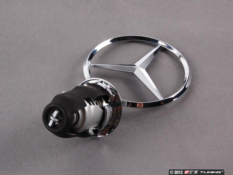 Genuine mercedes benz 124880008667 mercedes benz emblem for Mercedes benz hood ornament
