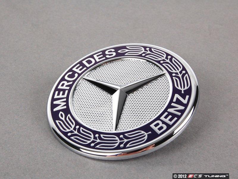 Genuine mercedes benz 2078170316 mercedes benz emblem for Mercedes benz emblem