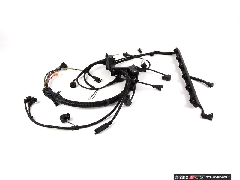 genuine bmw 12517513554 engine wiring harness es 30883 12517513554 engine wiring harness connects the ecu to various engine