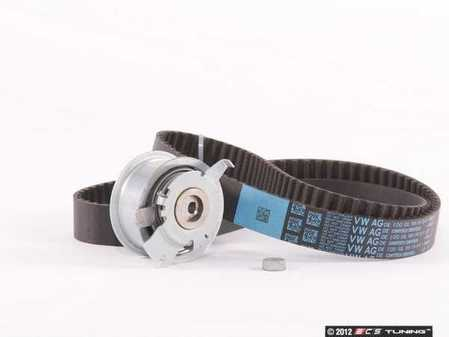 ES#2515523 - 03L109119FKT - Timing Belt Kit - Standard - Includes an OE long life timing belt and tensioner assembly - Assembled By ECS - Volkswagen