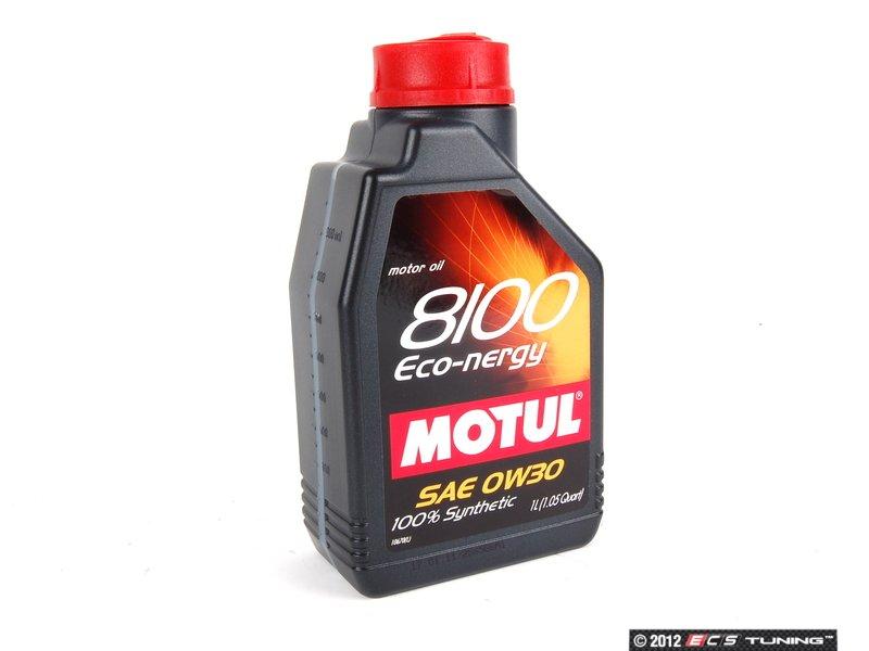 Motul 841311 8100 Eco Nergy Engine Oil 0w 30 1 Liter