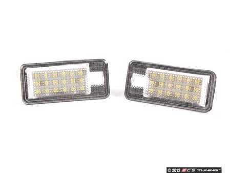 ES#2526327 - B7LEDLP - LED License Plate Light Assembly - Set - Full LED license plate lamps - Not just replacement bulbs - ZiZa - Audi