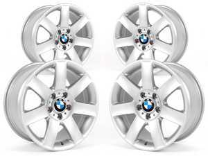 "ES#2535448 - 36111094506KT - 17"" Style 44 Wheels - Square Set Of Four - 17x8 ET47 72.6mm CB - Genuine BMW - BMW"