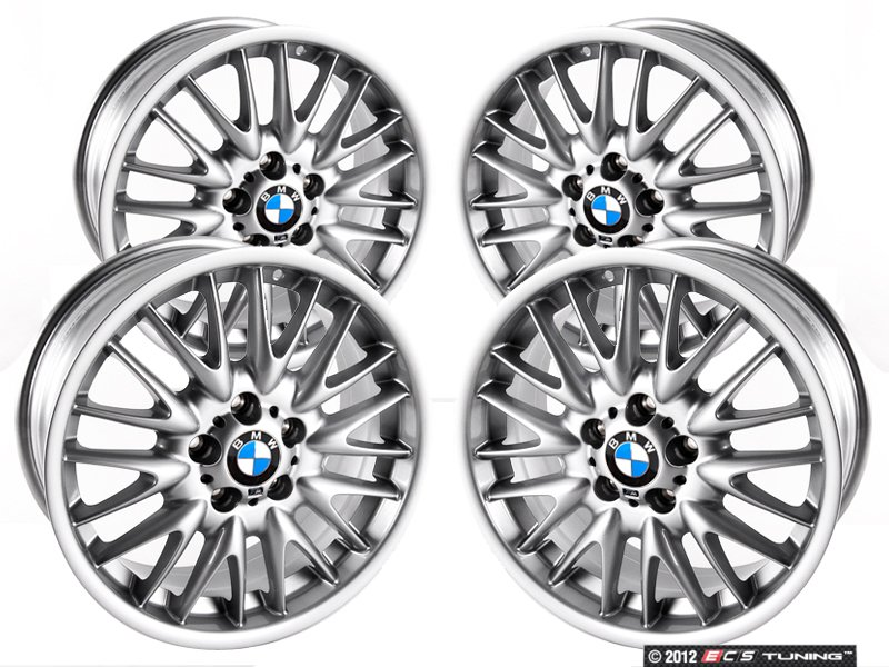 bmw lug wheels alloy and cut silver beyern std new style face antler by aviatic rims mirror