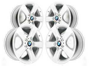 "ES#2535469 - 36116758987KT - 17"" Star Spoke Style 119 Wheels - Square Set Of Four - 17x8 ET47 72.6mm CB  - Genuine BMW - BMW"