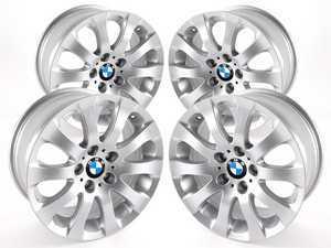"ES#2535492 - 36116775597KT - 17"" Spider Spoke Style 159 - Square Set Of Four - 17x8 ET34 72.6mm CB - Genuine BMW - BMW"
