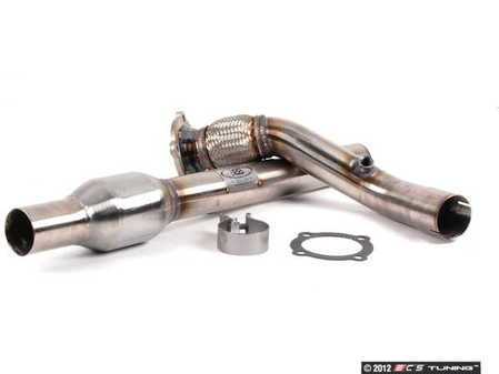 "ES#263993 - FPIM-0255 - Downpipe With High Flow Catalytic Converter - Fully polished 2.5"" downpipe with high flow catalytic converter - Billy Boat Performance - Volkswagen"