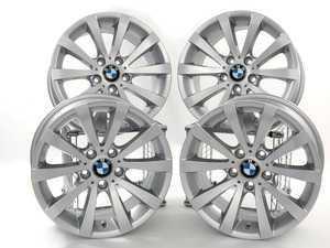 "ES#2535977 - 36116783631KT - 17"" V Spoke Style 285 Wheels - Square Set Of Four - 17x8 ET34 72.6mm CB - Genuine BMW - BMW"