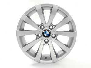 "ES#254857 - 36116783631 - 17"" V Spoke Style 285 Wheel - Priced Each - 17x8 ET 34 72.6 CB - Genuine BMW - BMW"