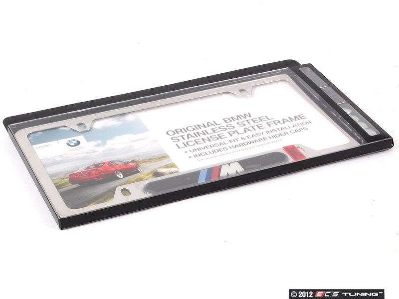 es196058 82120010405 m license plate frame
