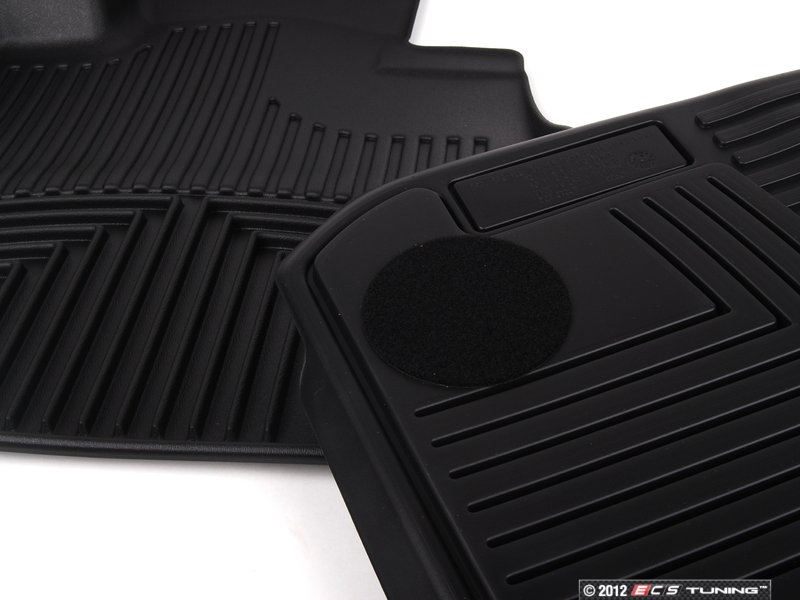 ... ES#2228637   82112220870   Front All Weather Rubber Floor Mats   Black    Keeps ...