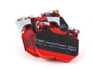 ES#2070775 - DP31996C - Rear RedStuff Performance Brake Pad Set - A high performance street pad, featuring Kevlar technology - EBC - BMW
