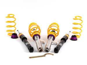 ES#2214954 - 10210040 - KW V1 Series Coilover Kit - Variant 1 coilovers offer the best balance between sporty driving and comfort - KW Suspension - Audi Volkswagen