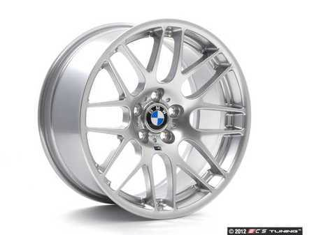 "ES#260176 - E46CSL36 - 19"" Genuine European CSL Wheel Set - Complete set of four, 19x8.5 ET44 & 19x9.5 ET27 CB 72.6mm. These are the factory wheels from the limited production European E46 M3 CSL - Genuine European BMW - BMW"