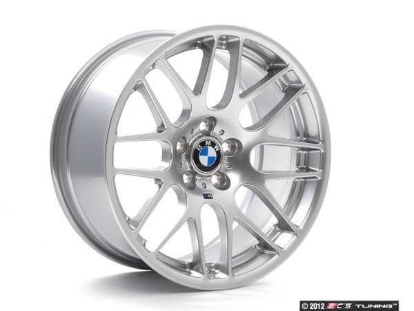 ES#260176 - E46CSL36 - 19 Genuine European CSL Wheel Set - Complete set of four, 19x8.5 ET44  19x9.5 ET27 CB 72.6mm. These are the factory wheels from the limited production European E46 M3 CSL - Genuine European BMW - BMW