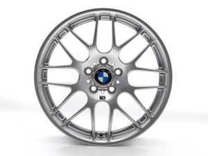 "ES#11534 - 36112282999 - 19"" Rear Competition Package/CSL Alloy Wheel - Priced Each - 19x9.5 5x120 ET27 CB 72.6mm. The real deal! Center caps are not included - Genuine BMW - BMW"