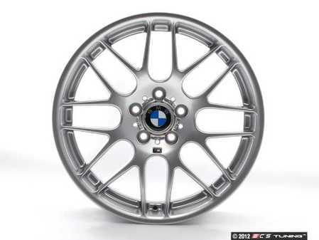 """ES#11534 - 36112282999 - 19"""" Rear Competition Package/CSL Alloy Wheel - Priced Each - 19x9.5 5x120 ET27 CB 72.6mm. The real deal! Center caps are not included - Genuine BMW - BMW"""