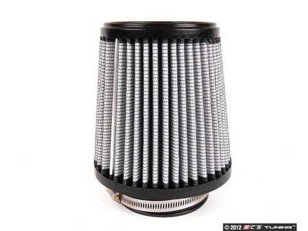 """ES#518380 - 21-35010 - Universal Pro dry S Air Filter - white - Replacement filter with 3.5"""" inlet, 6""""base, 4.75"""" top, 6"""" height - AFE - Volkswagen"""