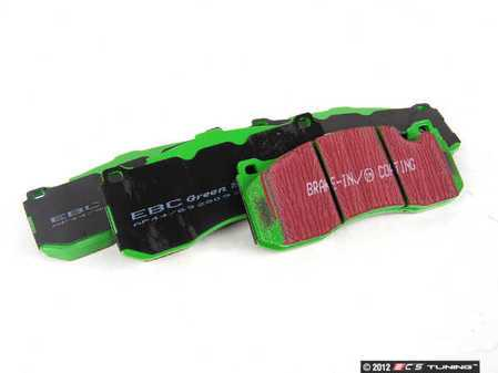 ES#2070709 - DP21995 - Front GreenStuff Performance Brake Pad Set - Designed as a mildly upgraded pad, great for an afternoon of sporty driving - EBC - BMW MINI