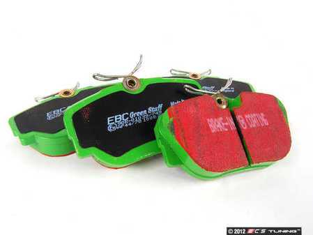 ES#520091 - DP2779 - Front GreenStuff Performance Brake Pad Set - Designed as a mildly upgraded pad, great for an afternoon of sporty driving. - EBC - BMW