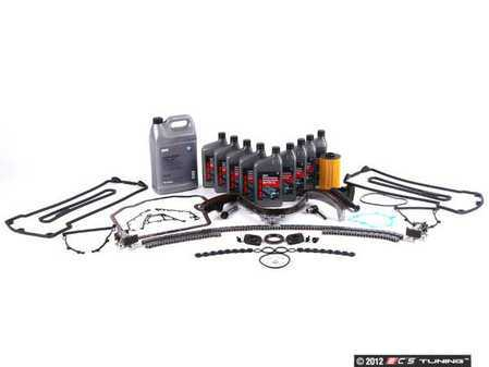 ES#2526338 - 11311435026KT4 - Timing Chain Kit - Contains all required components for replacement of timing chain guide rails using quality OE parts - Assembled By ECS - BMW