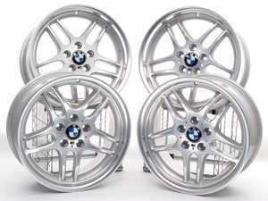 18 inch M Parallel Style 37 Wheels - Staggered Set Of Four