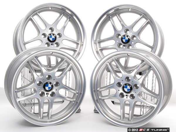 ES#2215189 - 3611222963540 - 18 M Parallel Style 37 Wheels - Staggered Set Of Four - 18x8 ET20/18x9 ET24 74.1CB 5x120 - Genuine BMW - BMW