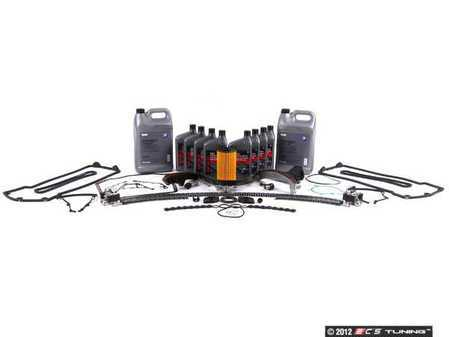 ES#2526337 - 11311435026KT3 - Timing Chain Kit - Contains all required components for replacement of timing chain guide rails using quality OE parts - Assembled By ECS - BMW