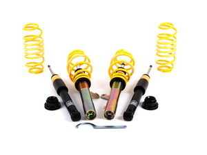 """ES#4000799 - 13280117KT - ST X Performance Coilover System - Fixed Damping - Height adjustable with average lowering of 1.2"""" to 2.1"""" front and 1.6"""" to 2.4"""" rear. - Suspension Techniques - Volkswagen"""