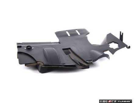 ES#118941 - 51458233510 - Footwell Trim Panel - Schwarz - Located under the dash on the driver's side  - Genuine BMW - BMW