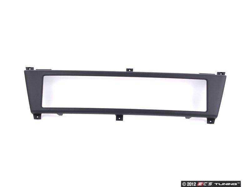 ES#1258532 - 8E0807285R3FZ - European License Plate Holder - Black - Allows for clean  sc 1 st  ECS Tuning & Genuine European Volkswagen Audi - 8E0807285R3FZ - European License ...
