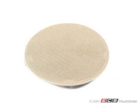 ES#102061 - 51418224388 - Speaker Cover - Right Front - Hellbeige/Light Beige. Protects the front door speaker - Genuine BMW - BMW