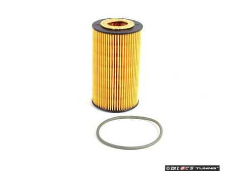 ES#2535596 - 99610722553 - Oil Filter Element - Ensure that your engine is getting clean a oil supply with a new filter - Hengst - Porsche