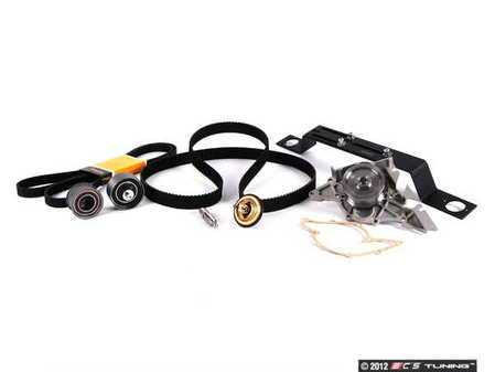 ES#7440 - 078198671 - Timing Belt Kit - Ultimate With Cam Locking Tool - Complete kit to service your timing belt, water pump, and thermostat - Assembled By ECS - Audi