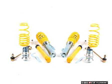 ES#2539502 - SMVW9008 - AK Coilover Street Kit - Lowers approximately 35-55 MM, non dampening adjustable - FK - Volkswagen