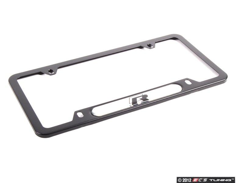 Genuine Volkswagen Audi - 5K0071801D - R-Line Plate Frame - Black ...