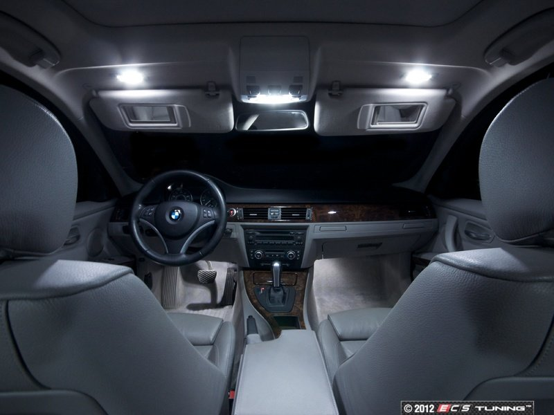 Can Light Conversion Kit >> ECS News - BMW E91 LED Interior Lighting Kit