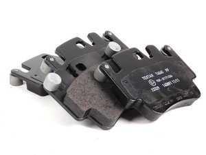 ES#1940120 - 99635294903 - Brake Pad Set - With backing plates - Pagid - Porsche