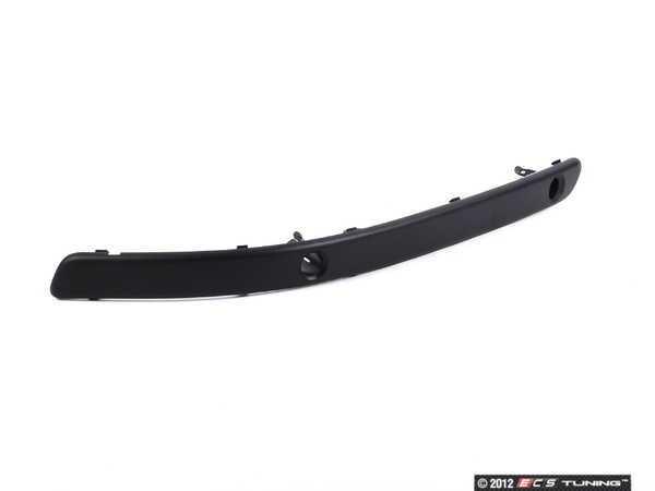 ES#74887 - 51117894139 - Front Bumper Rub Strip - left - Side front moulding in textured finish - Genuine BMW - BMW