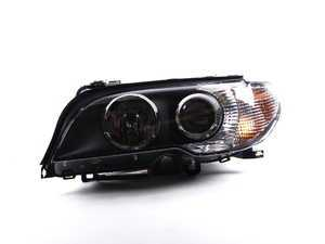 ES#172971 - 63127165951 - Bi-Xenon Headlight Assembly - Left - For vehicles with bi-xenon, adaptive headlights and white indicators - Genuine BMW - BMW