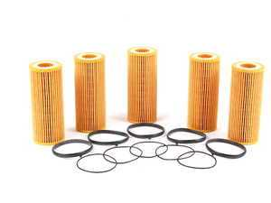 ES#514110 - 06E115562A - Oil Filter Kit - Pack Of 5 - Stock up for future maintenance and save! - Mann - Audi