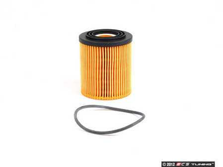 ES#257649 - 11427512446 - Oil Filter Kit With O-Ring HU 816/2 X - Keep your oil contaminant free : Gen 1 MINI Cooper R50 R52 R53 - Mann - MINI