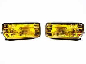 ES#1832043 - e36630270 - European Yellow Fog Light Set - True European fog lights, featuring yellow lenses - Genuine European BMW - BMW