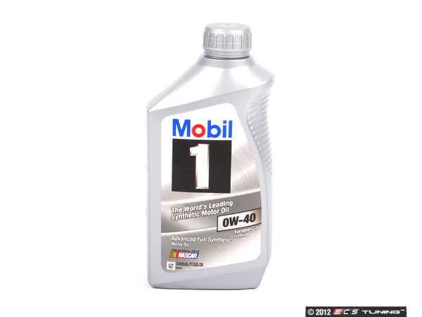 Mobil1 00004330316kt mobil 1 engine oil 0w 40 1 quart for Bmw approved motor oil
