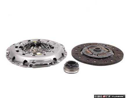 ES#2497579 - 06C198117 - Clutch Kit - Includes pressure plate, clutch disc & throwout bearing - LUK - Audi