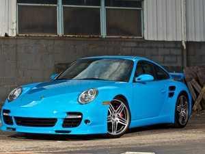 """ES#2550517 - 99736216202KT - Set Of 19"""" Turbo I Wheels - Full set of staggered factory wheels - Genuine Porsche - Porsche"""