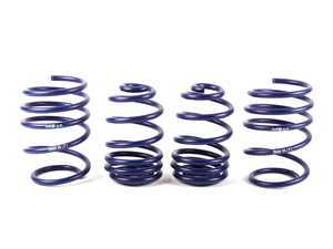 "ES#10799 - 29484 - Sport/race Spring Set - Lowers your vehicle with minimal comfort sacrifice , Average lowering of 0.75""F 0.25""R. for vehicles with sport suspension, Average lowering of 2""F 1.4""R for vehicles without sport suspension - H&R - BMW"